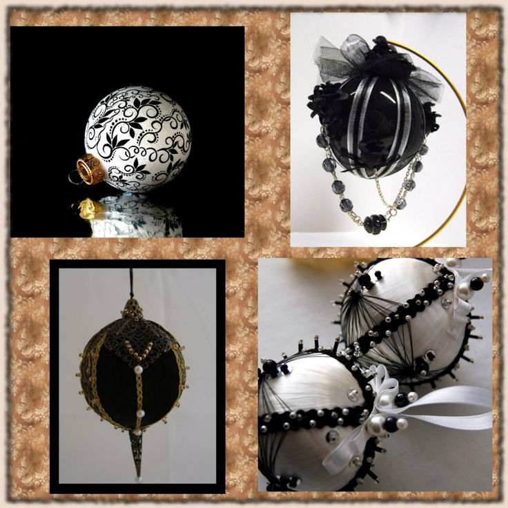 Black And White Christmas Decoration Ideas: Top 18 Ideas About Black Christmas Decorations On