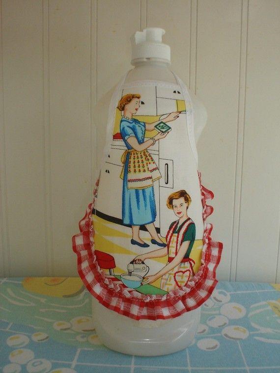Dish soap apron