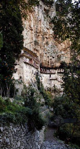 Monastery of St. John the Baptist (12th century), Stemnitsa, Arcadia, Greece…