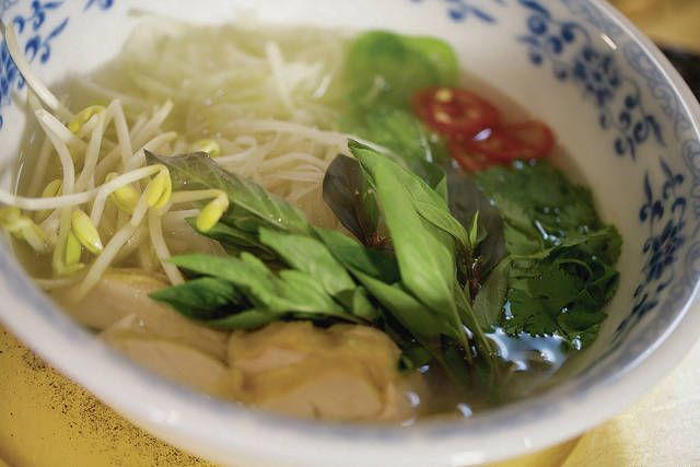 COURTESY KCC                                  A good bone stock is the basis of a bowl of pho.