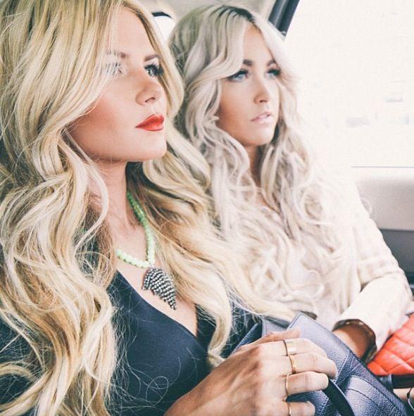 shop handbags Hair perfection  Long  blonde and waved