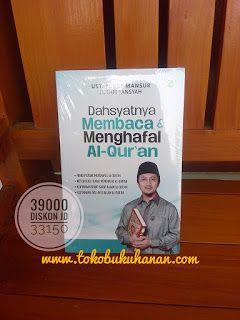 Subhanallah jika kita menjadikan Al-Quran sebagai pegangan hidup.   www.tokobukuhanan.com
