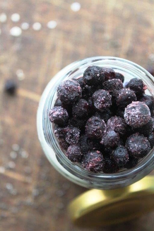blueberry-chia pudding