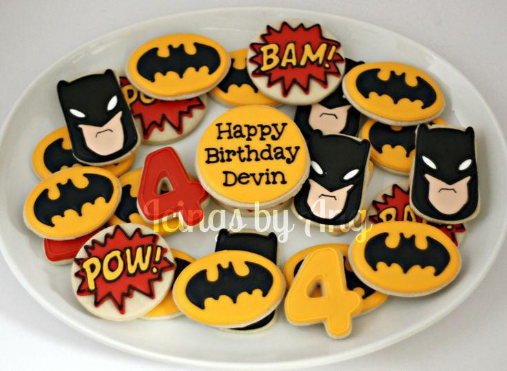 Batman Cookies                                                                                                                                                     Más