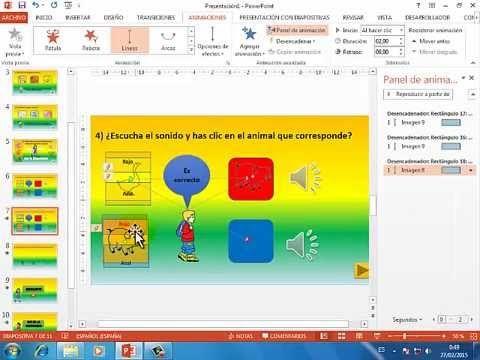 Software Educativo en PowerPoint - Parte 2