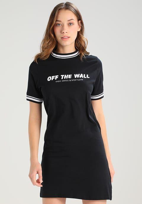 Köp Vans HIGH ROLLER OFF THE WALL - Jerseyklänning - black för 499,00 kr (2017-09-28) fraktfritt på Zalando.se