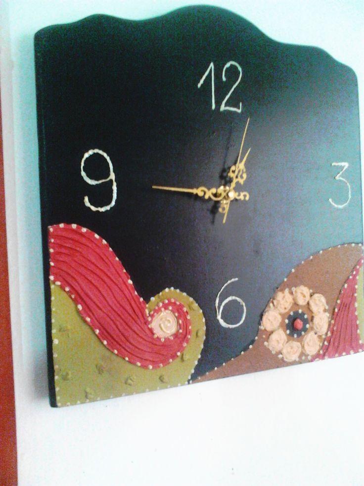 Reloj Artesanal, con textura