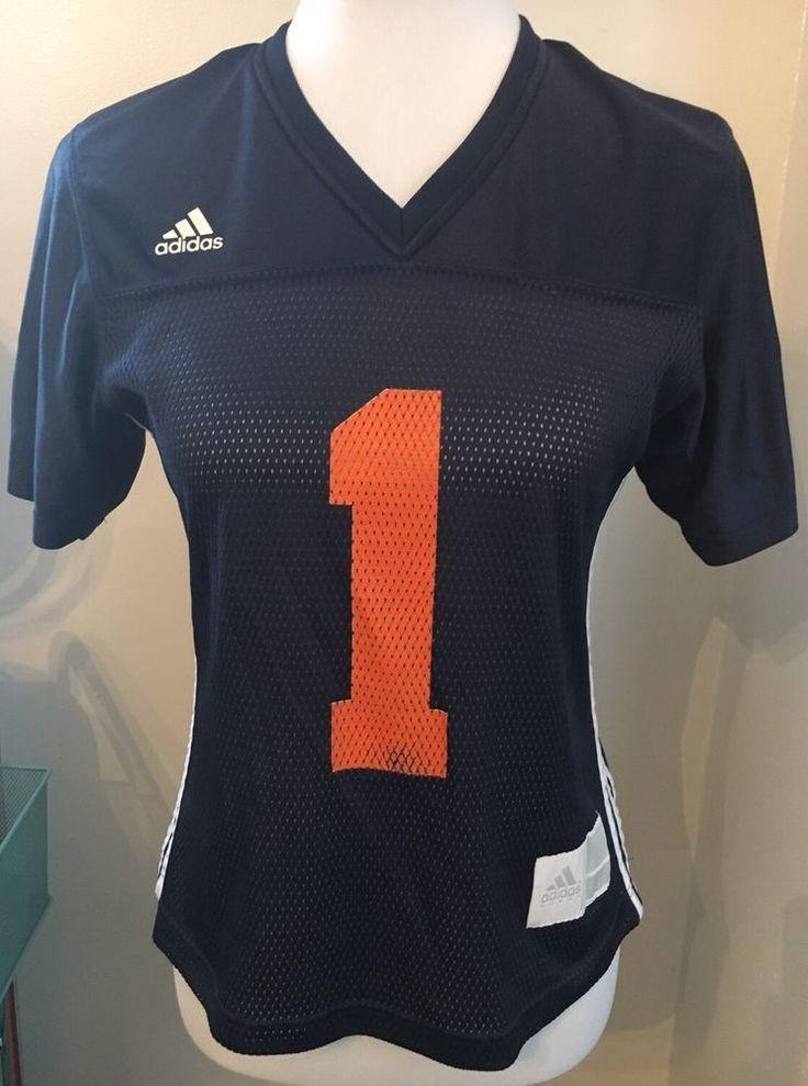 Adidas Women's Top S Auburn Tigers Jersey Navy Shirt Sec Football War Eagle  | eBay