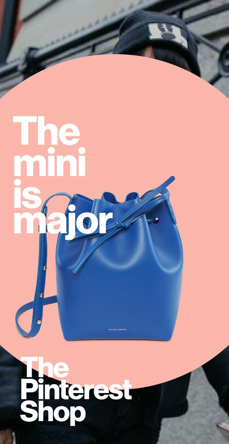 The mini bag is big on purse-onality and measures up with searches at +230%. Shop mini bags in The Pinterest Shop to find your new fall companion.