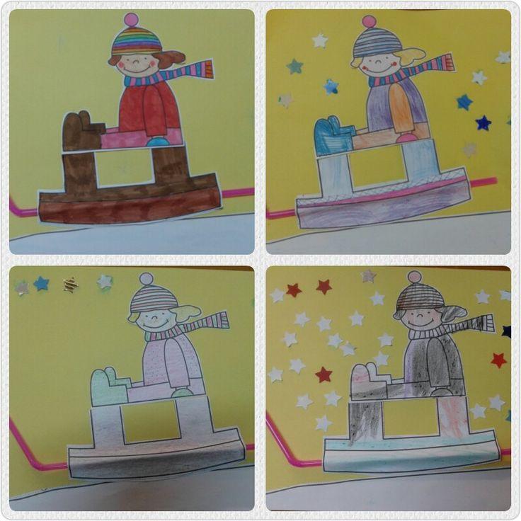 Tema: Iarna - grupa varsta 4-7 ani