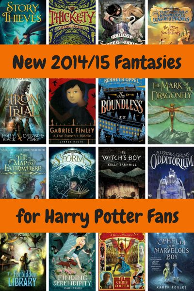 Looking for a new chapter book for a Harry Potter fan? Check out these fantasy novels published in 2014 or 2015. Perfect for kids ages around ages 8 to 13!