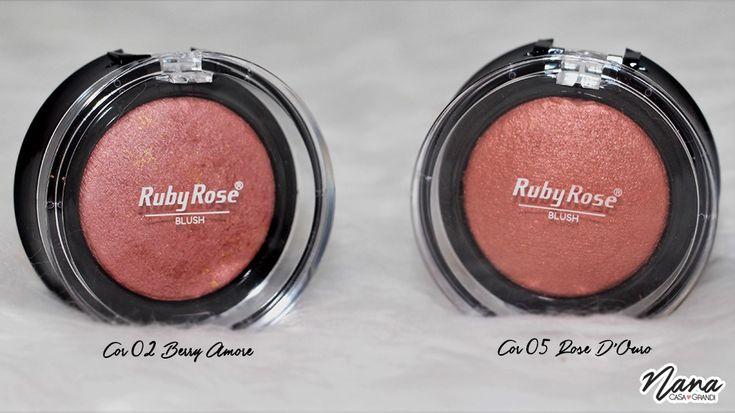 Blush Mosaico HB 6101 - Cores 02 e 05 - Ruby Rose.