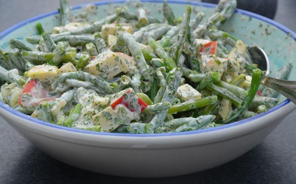 Salade met boontjes