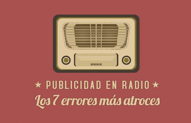 TENES QUE LEER ESTO si te gusta escuchar radio o si vas a hacer publicidad en este medio.  Estoy seguro que muchos se sentirán identificados!!!  http://www.mclanfranconi.com/publicidad-en-radio-errores/  #Errores #Publicidad #Radio #Marketing #Empresas #Negocios