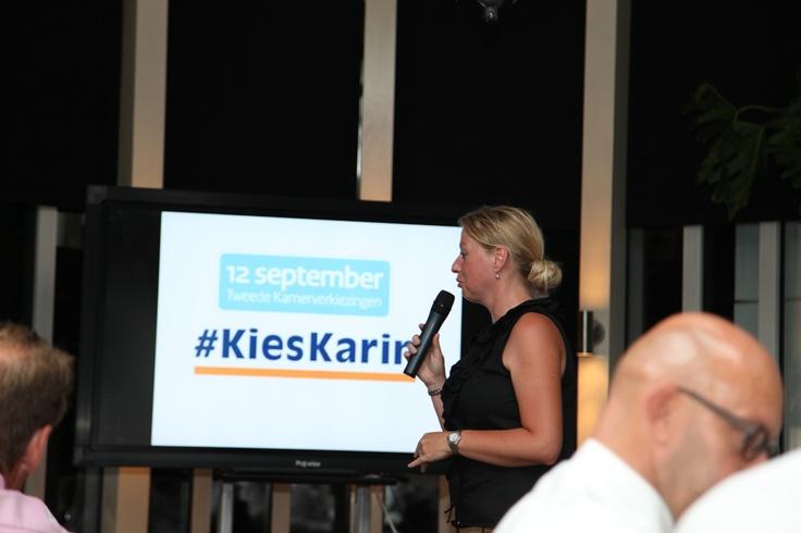 Een korte presentatie over mijn campagne. #KiesKarin.