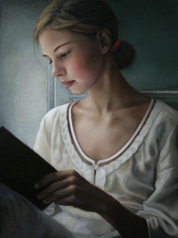 Ellen De Groot-Open Book. 2014