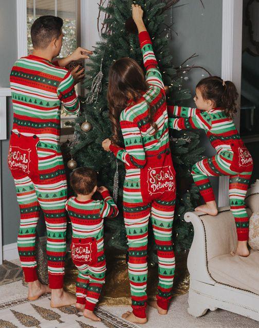 Christmas Family Pajamas Flapjacks Christmas Pajamas Family Pajamas by ChristmasPajamasEtc on Etsy