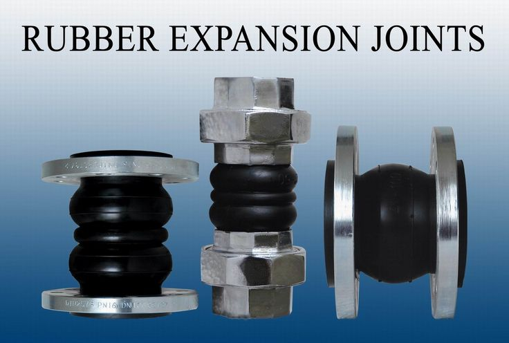 Rubber Expansion Joints Are A Flexible Connector