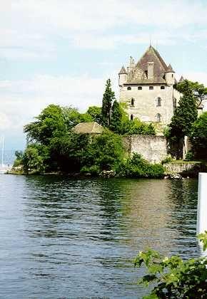 Yvoire France Lac Leman citée médiéval au bord du lac léman