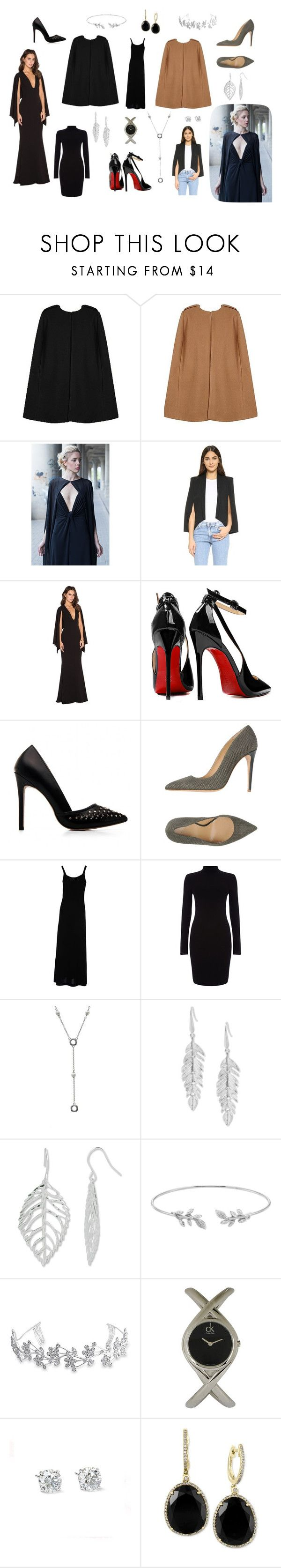 """Capes"" by giselle-suarez on Polyvore featuring James Jeans, Posh Girl, Armani Collezioni, Etro, Phase Eight, Tiffany & Co., Steve Madden, Bling Jewelry, ck Calvin Klein and Effy Jewelry"