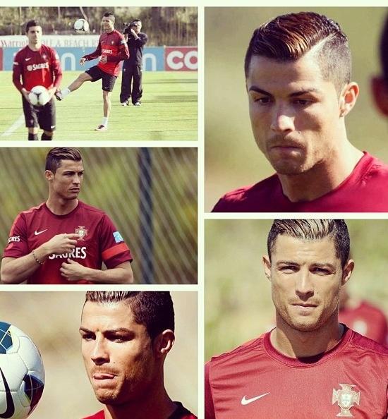 Cristiano Ronaldo with the Portugal national team