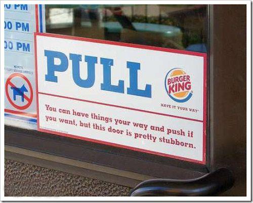 Funny Burger King: Funny Burger King Fail Photo