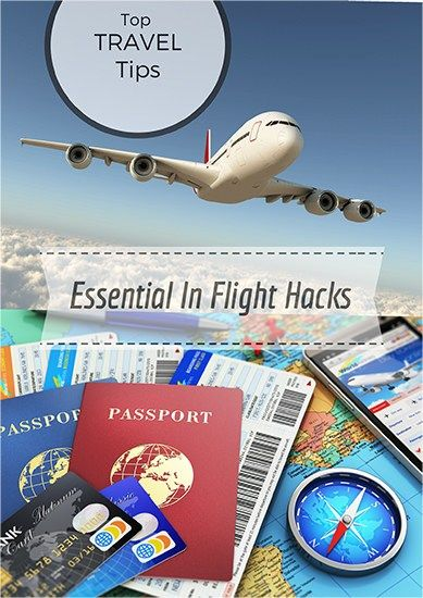 Top Travel Tips & Hacks for Fuss Free Flights - Pin for later