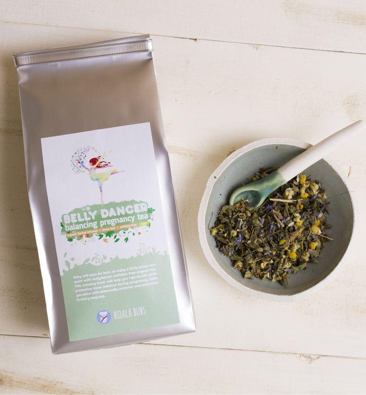 Belly Dancer - Organic Pregnancy Tea (Organic herbal blend   loose leaf   70gr) - Koalabubs