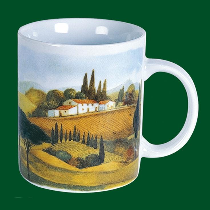 Cylindrical Mug | Tuscany