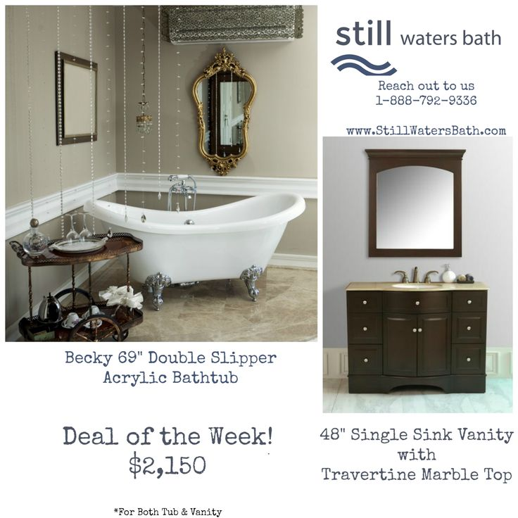 14 best Deals! images on Pinterest | Bathtubs, Bathroom cabinets and ...