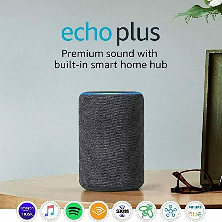 Echo Plus (2nd Gen) Premium sound with builtin smart