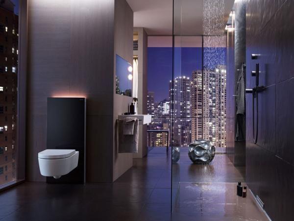 Design Hört Nicht Vor Ihrem Badezimmer Auf: Verbergen Sie Mit Geberit  Monolith Unschöne Sanitärtechnik Und Gehen Sie Neue Wege Im Baddesign