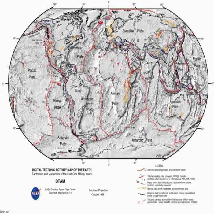 Gempa bumi lempeng tektonik