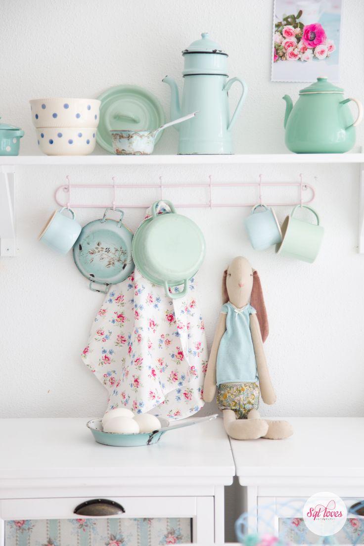 Kitchen Decor On Pinterest Pastel Coral Kitchen Accessories