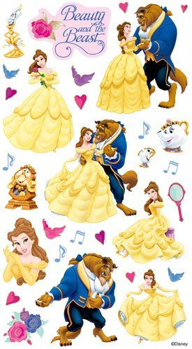 EK Success - Disney Collection - Classic Stickers - Beauty and the Beast