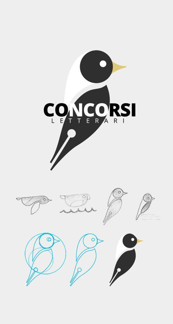 コントラクション・グリッドによってデザインされたとっても素敵なロゴのご紹介です。コントラクション・グリッドとは規則的な線や円、ガイドによる設計図のことで、コントラクショングリッドのレイアウト設計によってデザインされたロゴはバランスがよく美しいものが多いです。