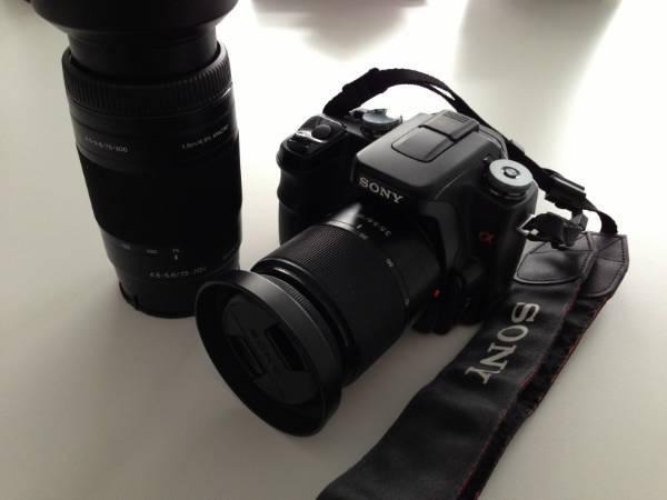 Schnäppchen: Sony DSLR-A100W, inkl. 2 Objektive in Dietikon von @kupfi kaufen bei http://info.ricardo.ch/kupferst