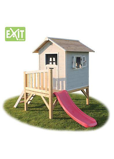 Die 25+ Besten Ideen Zu Spielhaus Mit Rutsche Auf Pinterest ... Spielhaus Im Garten Verspricht Abenteuer Pur Im Eigenen Hinterhof
