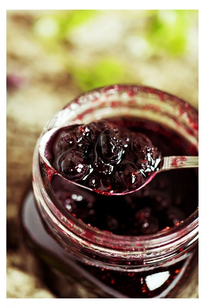 Blueberry jam from Kathleen Flinn's Burnt Toast Makes You Sing Good. Click to get the recipe!