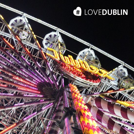 #Fairground fun at #Winter #Funderland at the #RDS in #Dublin #FerrisWheel #LoveDublin