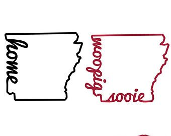 , Arkansas Razorback s, Love, Woo Pig Sooie, SVG, DXF, Vector Files ...
