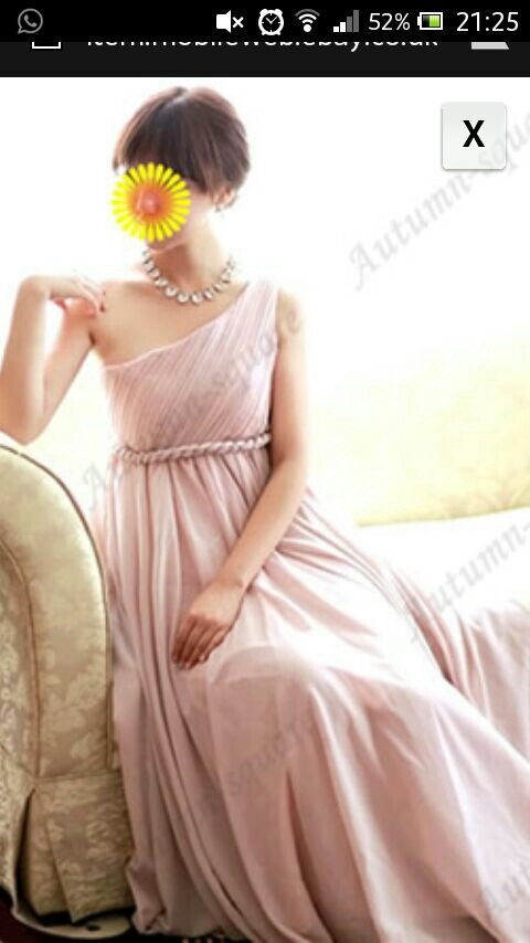 Gorgeous dusky pink bridesmaid dress <3