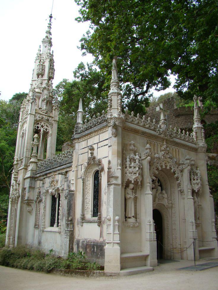 The chapel at Capela Palácio da Regaleira, Sintra, Portugal