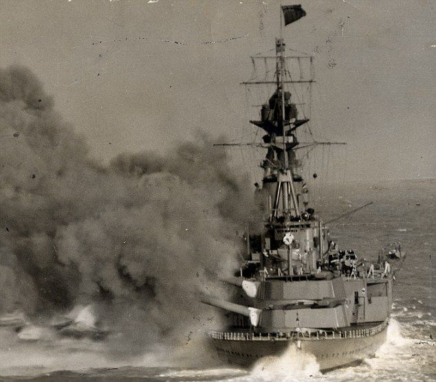 HMS Hood sank on 24 May 1941 after being hit by several shells fired by the Bismark during the Battle of Denmark Strait, one of the fiercest naval encounters of the war