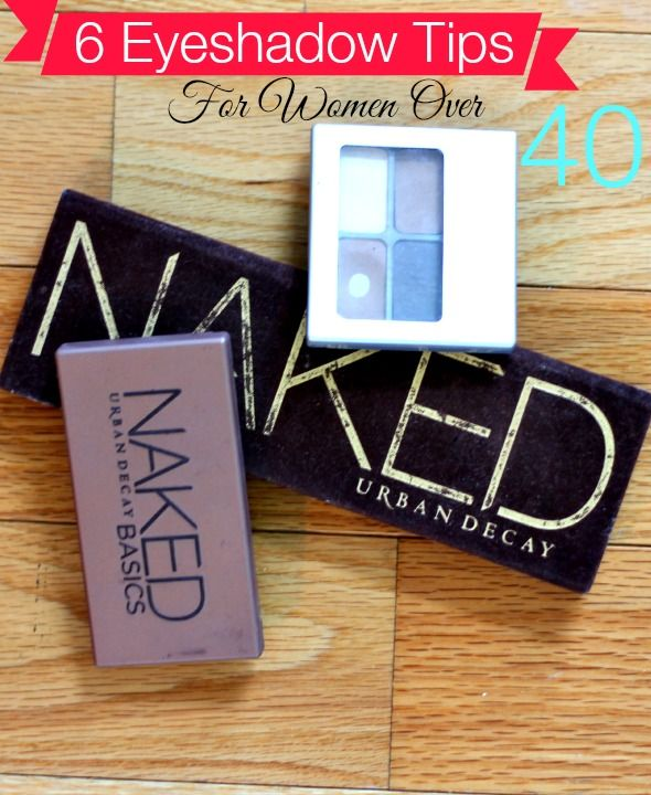6 eyeshadow tips for women over 40. Are you over 40? These tips will help yo look your best!