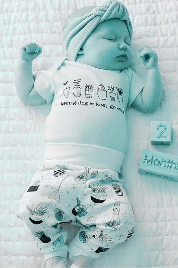 Keep Going Keep Growing Organic Onesie Baby Boy Girl Unisex Gender Neutral Infant Toddler New Gender Neutral Baby Gifts Newborn Bodysuit Organic Baby Clothes