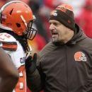 Browns coach Mike Pettine on future: 'I love it here.' (Yahoo Sports)
