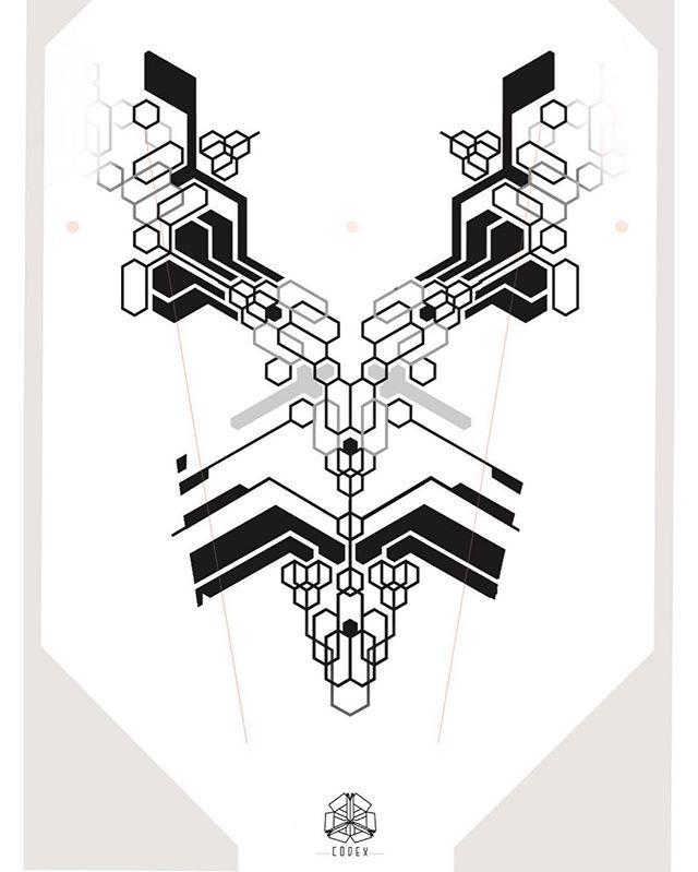 Pin By Adelya Ahmedjanova On Tatu Geometric Tattoo Design Pattern Tattoo Cyberpunk Tattoo
