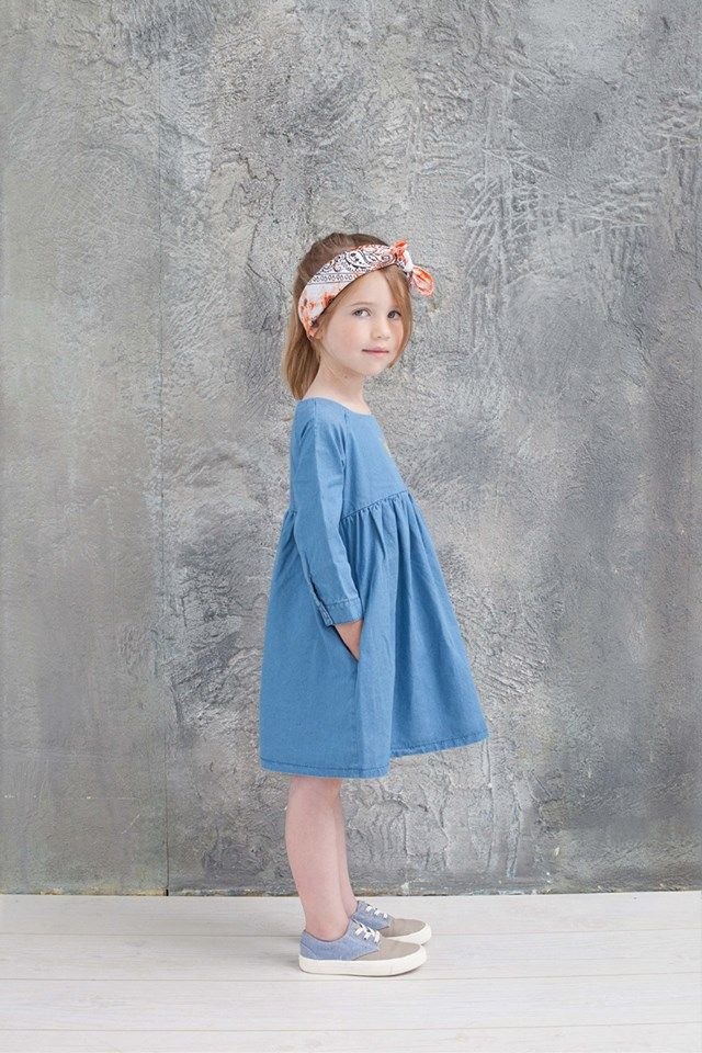 petite robe bleue