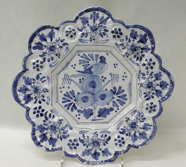 Plate | British, Brislington | The Met